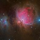 M 42 - Orion Nebula (LRGB),                                Thomas Westphal