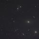 The Eyes In Virgo - NGC 4435, NGC 4438, And M86.,                                Matthew Abey
