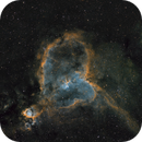 Heart and Soul nebulae,                                Ben