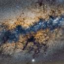 Centro Galáctico desde Viñak, Perú,                                Guillermo Spiers