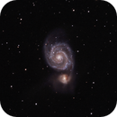 M51 The Whirlpool Galaxy,                                Don Walters
