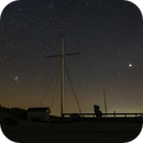 Starry Sky  - M45 - Mars,                                Annette Sieggrön