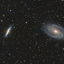 M81 & M82 Crop NP127is,                                Tom Peter AKA Astrovetteman