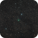 This Morning's Comet C/2020 R4 ATLAS moving through a heavy star field, Constellation Aquilla,                                Dan Bartlett