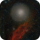 Comet  17P/Holmes and California Nebula,                                Martin Mutti