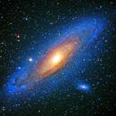 M31 Andromeda Galaxy,                                Gilbert Ikezaki