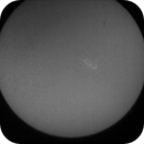 ISS solar transit, August 27, 2017,                                David Johnson