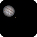 Jupiter, Io, and Eurpopa on May 9, 2018,                                JDJ