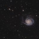 Messier 101 with neighbors,                                Jenafan