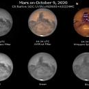Mars on October 9, 2020,                                JDJ