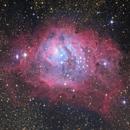 Lagoon Nebula - First Pixinsight Process + Additional,                                HaydenAstro