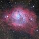 Lagoon Nebula - First Pixinsight Process + Additional,                                HaydenAstro(NZ)