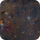 NGC 1333 in Perseus Molecular Cloud - Two Panel Mosaic,                                Eric Coles (coles44)
