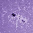 Sole 5 Maggio 2014 CaK NOAA 2049,                                Ennio Rainaldi