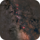 Milky Way from M16 till M7 widefield,                                Riedl Rudolf