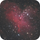 M16 Pillars Of Creation - iTelescope T33 LRGB composition,                                alexhollywood