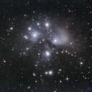M45 - Pleiades The Seven Sisters,                                Astrofiziks