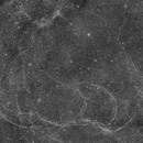 Simeis 147 H-Alpha 4 Bilder Mosaik,                                antares47110815