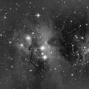 NGC1977 Running Man in Orion  Infra Red,                                Ray Heinle
