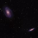 Bode's Galaxy and Cigar Galaxy (M81, M82),                                Gregg