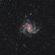 Fireworks Galaxy Captured,                                Chuck's Astrophot...