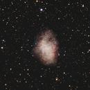 Crab Nebula - November 13, 2020,                                Adam Drake
