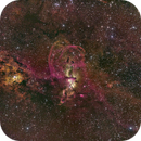 NGC 3576 LRGB Ha OIII SII,                                RolfW