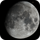 Exactly 11 Days Old Moon,                                astropical