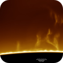 Solar Prominence Lift Off, HA, 03-07-2019,                                Martin (Marty) Wise