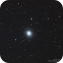 M13 Great Globular Cluster in Hercules in LRGB,                                Kayron Mercieca
