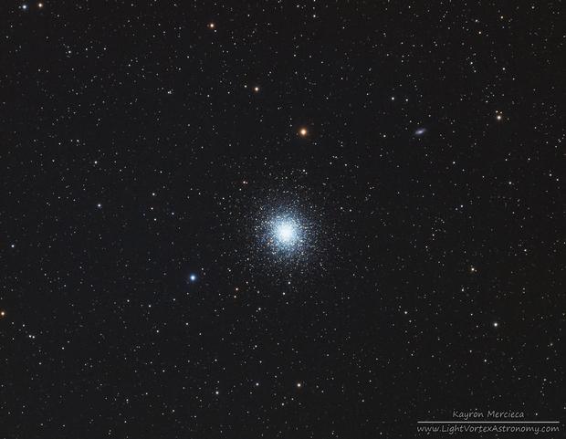 M13 Great Globular Cluster in Hercules in LRGB,                                Kayron Mercieca