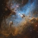 Eagle Nebula (M16) SHO,                                Stuart Goodwin