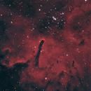 NGC 6820 (Sh 2-86) and NGC 6823 - HOO Narrowband,                                rhedden