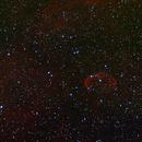 NGC6888 Cresent nebula,                                pdlumb