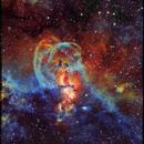Taking Liberties : NGC 3576 in NB,                                Andy 01
