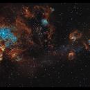 NGC 2070 - Tarantula, Narrowband,                                George Varouhakis