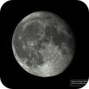 Moon from 6 August 2020 at 1 m focal length,                                Andy Devey