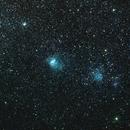 Nebulae in the Small Magellanic Cloud (including NGC 346),                                DavidLJ