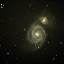 Whirlpool Galaxy,                                Robin Clark - EAA imager