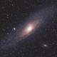 Andromeda Stelsel,                                petelaa