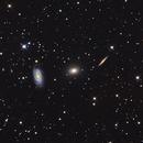 Draco Trio - NGC5981/5982/5985,                                Frederick Steiling