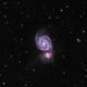 M51 Galaxy LHaRGB,                                mayapple