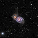 M51 - The Whirlpool Galaxy,                                CrestwoodSky