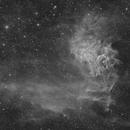 IC405 - The Flaming Star Nebula (H-Alpha),                                Frank Breslawski