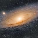 M31 first HA-LRGB,                                ChristianDud