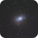 M33 - triangulum galaxy,                                upinthesky