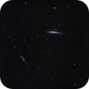 NGC4631  -  The Whale, its pup (calf) and a hockey stick,                                jeff2011