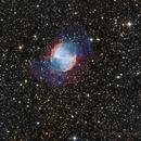 M27 Dumbbell Nebula LRGB HaSIIOIII,                                Steve Robbins