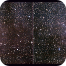 IC 1396 en Vision Croisée - Constellation de Céphée - (IC 1396 in Cross-Eye),                                Astroluc63