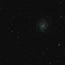 M101 sous iris,                                purpose